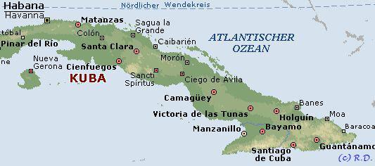 Havanna Kuba Karte.Cuba